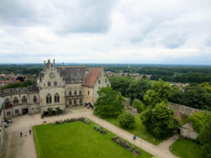 Innenhof Burg Bentheim