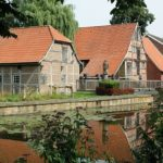 Die historische Wassermühle in Nienborg – mehr als 600 Jahre alte Kornwassermühle